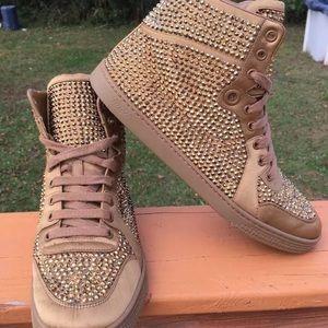 Gucci Women's Hightop Sneakers